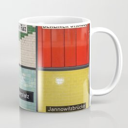 Berlin/Munich U-Bahn Memories - Your Own Creation Coffee Mug