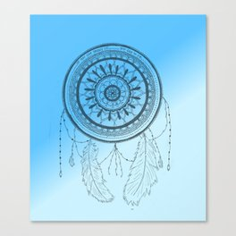 Mandala dreamcather Canvas Print