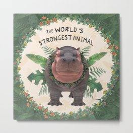 the strongest animal Metal Print
