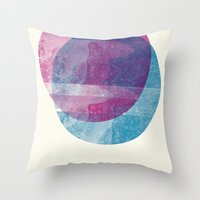 minimalism Throw Pillows featuring MINIMALISM by Véronique Leduc