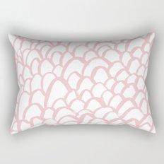 Blushing / Painted pattern Rectangular Pillow