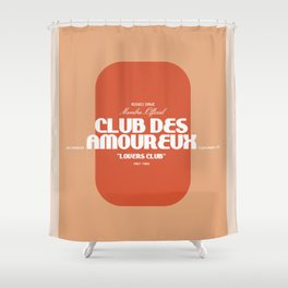 Lovers Club Shower Curtain