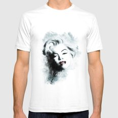 Ohh Marilyn! Mens Fitted Tee SMALL White