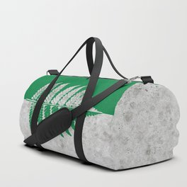 Natural Outlines - Fern Green & Concrete #259 Duffle Bag