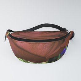 For Love Of The Red Rose Fanny Pack