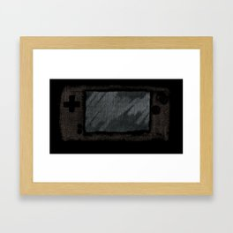 The Device Framed Art Print