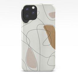 Thin Flow II iPhone Case