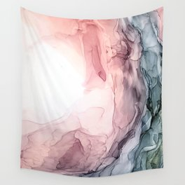 Blush and Blue Dream 1: Original painting Wall Tapestry