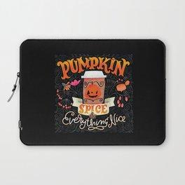 Pumpkin Spice & Everything Nice Laptop Sleeve