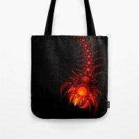 scorpio Tote Bags featuring Scorpio by Eli Vokounova