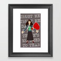 The Unmaking of Tamara Framed Art Print