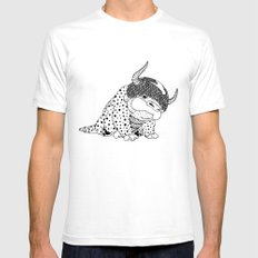 Avatar / Appa by Luna Portnoi Mens Fitted Tee White SMALL