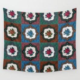 Peranakan Tiles (Textured Multi) Wall Tapestry