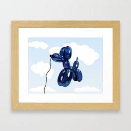 Balloon dog Framed Art Print