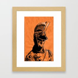 French Dragoon Framed Art Print