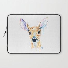 Peekaboo Deer Laptop Sleeve