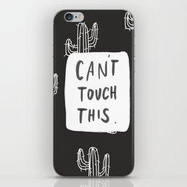 Cant Cactus iPhone Skin