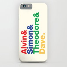 ALVIN&SIMON&THEODORE&DAVE. iPhone 6s Slim Case