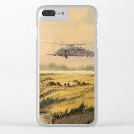 HH-60 Pave Hawk Helicopter Clear iPhone Case