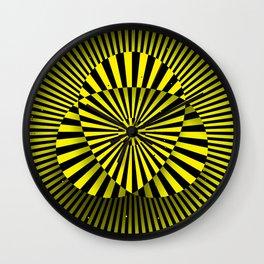 Manipura chakra (yellow) Wall Clock