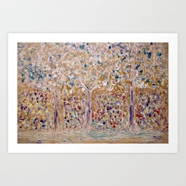 Allegory Painting Art Print