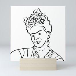 Frida Kahlo Portrait Mini Art Print
