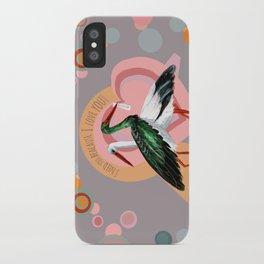 Love (GREFA) iPhone Case