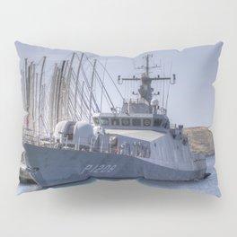 Turkish Navy Tuzla Class Patrol Boat Pillow Sham
