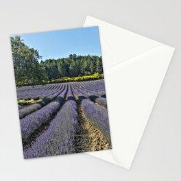 Lavender fields, Provence, France Stationery Cards