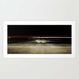 Driveby Art Print