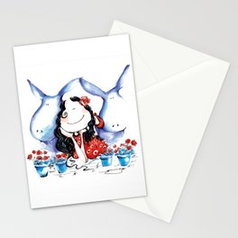 My donkeys Stationery Cards