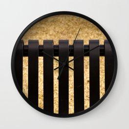 Grillage au #parc Wall Clock