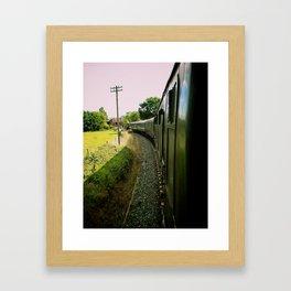 Toot Toot! Framed Art Print