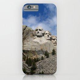 Mount Rushmore National Memorial iPhone Case