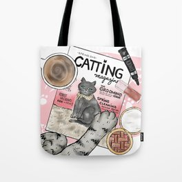 Monday Morning Essentials - featuring Catting Magazine, Spring 2018 Tote Bag