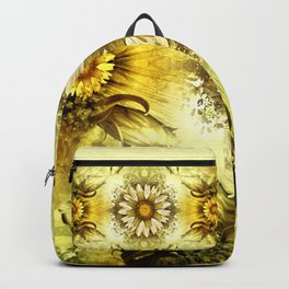 """Victorian Garden Spring Flowers"" Backpack"