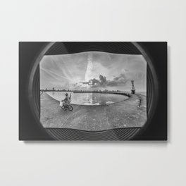 Montrose Pier, Chicago Metal Print