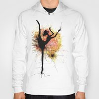 dancer Hoodies featuring dancer by liva cabule