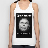 kevin russ Tank Tops featuring Russ Meyer Tribute Poster by Holland