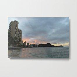 Hawaii Sunrise Metal Print