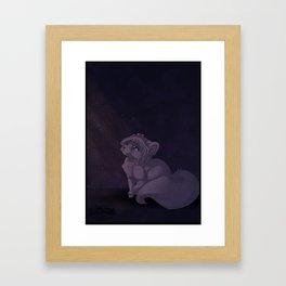 A Heavy Heart Framed Art Print