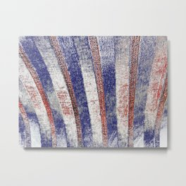 The Old Red White And Blue Metal Print