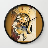 roman Wall Clocks featuring Roman by Ecsentrik