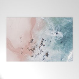 Sea Bliss - aerial beach photography by Ingrid Beddoes Welcome Mat