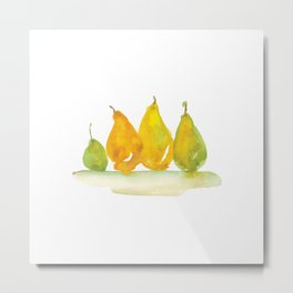Colorful autumn fruits Metal Print