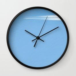 Cloud Lattice Wall Clock