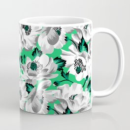 Mount Cook Lily - Green/White Coffee Mug