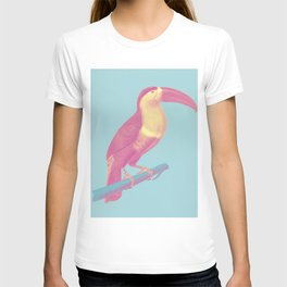 Tropical Watercolor Bird T-shirt