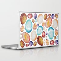 eggs Laptop & iPad Skins featuring Eggs by Sushibird