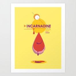 Incarnadine Art Print